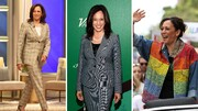 تصاویر | استایل رسمی و معنادار کامالا هریس ؛ نخستین معاون زن رئیسجمهور آمریکا