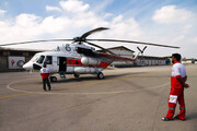 راهاندازی بزرگترین سایت امداد هوایی غرب ایران در خرمآباد