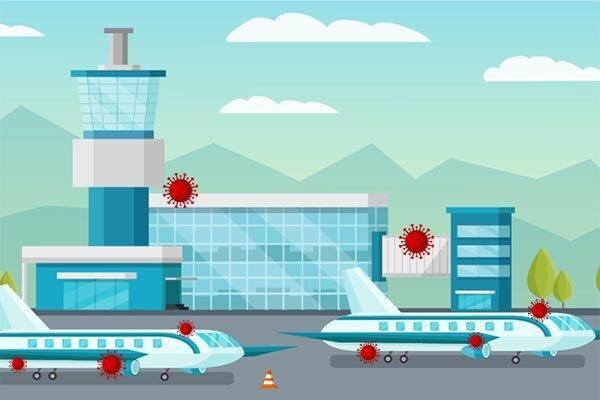 ویروس در فرودگاه