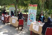 آموزش مقابله با ویروس کرونا در پردیس بانوان
