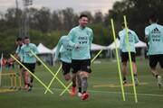 تصویر | مسی با جت شخصی به اردوی تیم ملی آرژانتین رسید