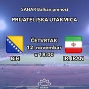 گزارش فوتبال ایران - بوسنی به زبان بوسنیایی