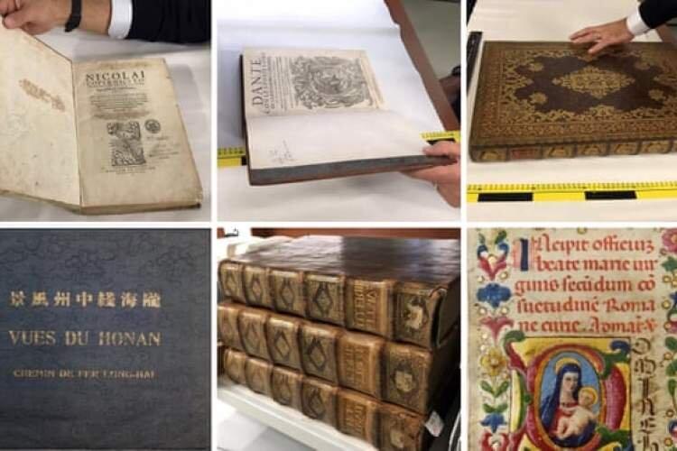 کتابهای سرقتی از انگلیس