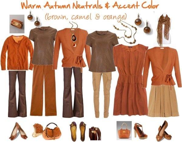 لباس/ پالت رنگی زمستانی