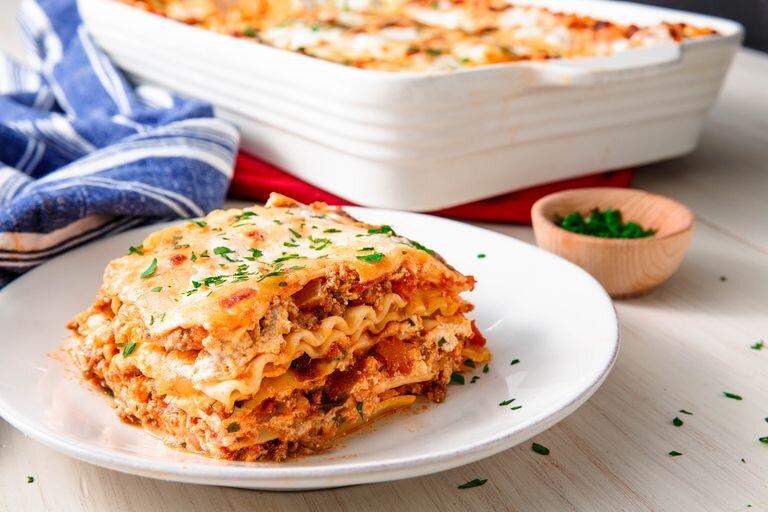 لازانيا Lasagne - غذا - آشپزي - دستورپخت - تغذيه