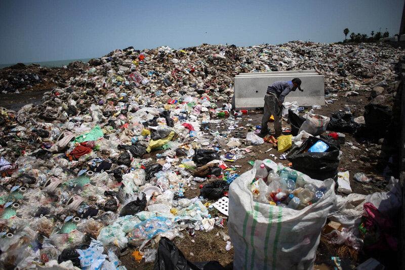شهر 300 هزار نفری میاندوآب و معضل زباله