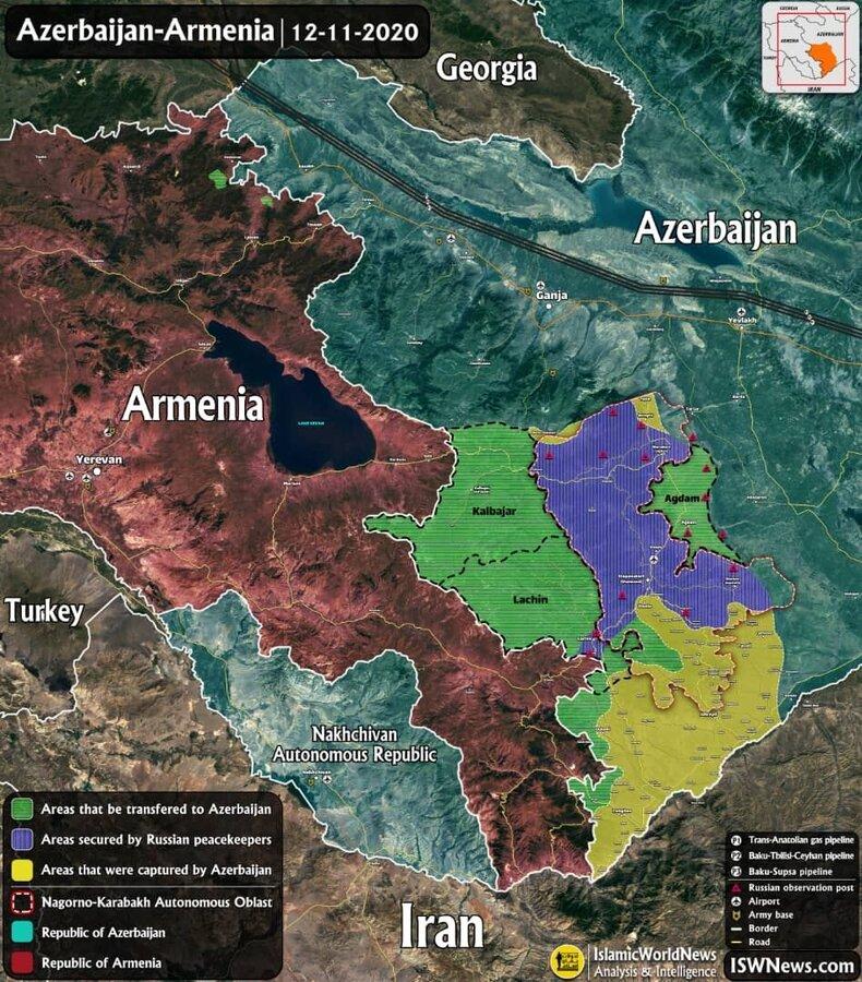 4516461 - مرز ایران و ارمنستان از بین رفته است؟ | واکنش وزارت خارجه