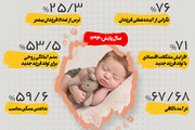 اینفوگرافیک | زوجهای ایرانی با چه توجیهاتی راضی به فرزندآوری نمیشوند؟
