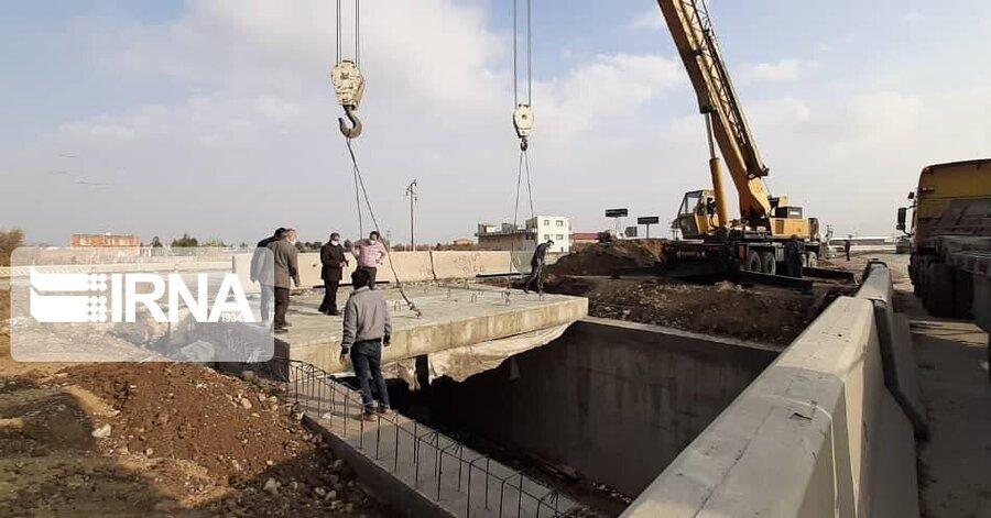 احداث پل زیرگذر