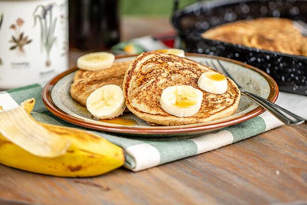 پنکیک - پنکک - آشپزي - تغذيه - صبحانه