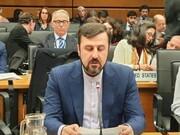 کاظم غریب آبادی:  ۳ کشور اروپایی به خود فرصت دادند | هیچ ترتیبات جدید با آژانس انجام نشده است