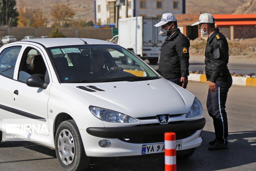 محدودیت تردد - پلیس راهور
