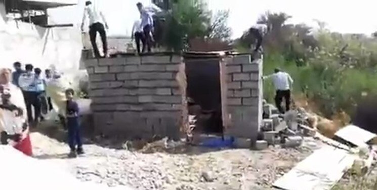 تخریب آلونک