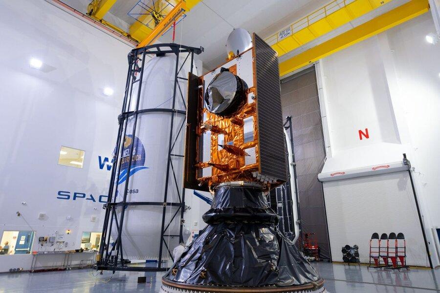 Sentinel-6 Michael Freilich ocean-mapping satellite