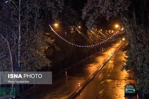 خیابان ولیعصر بالاتر از پل پارکوی