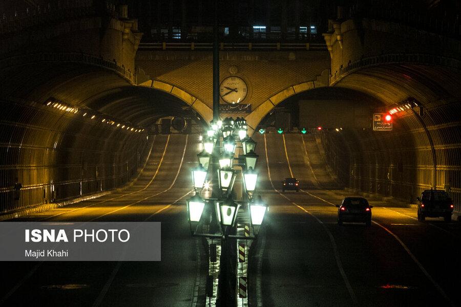 محدودیت تردد در تهران - اول آذر