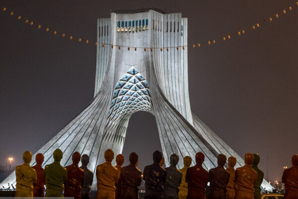 تصاویر | خیابانهای تهران در اولین شب قرنطینه