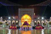 ویدئو | حرم رضوی در شب میلاد امام حسن عسکری(ع)