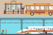 موشن گرافیک | چطور در مترو و اتوبوس کرونا نگیریم؟