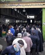 عکس | ازدحام نگرانکننده مردم برای خرید مرغ دولتی