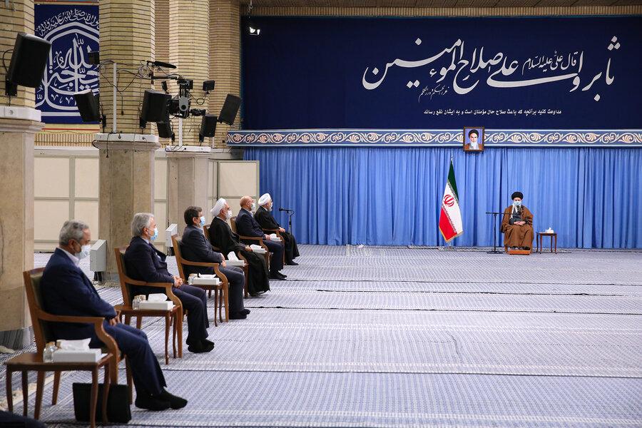جلسه شورایعالی هماهنگی اقتصادی با حضور رهبر انقلاب