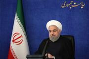 اظهارات مهم روحانی درباره پاسخ به جنایت ترور شهید فخری زاده