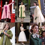 تصاویر | خانم میزل شگفتانگیز رکورددار زیباترین لباسها در تاریخ سریالهای تلویزیونی