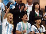 تصاویر |  مارادونا در جام جهانی ۲۰۰۶ آلمان