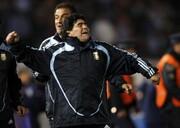 ویدیو | دویدن و خوشحالی عجیب مارادونا بعد از گلزنی مهاجم ایرانی