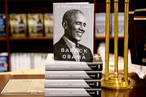 سرزمین موعود اوباما در هفته اول ۱.۷ میلیون نسخه فروخت