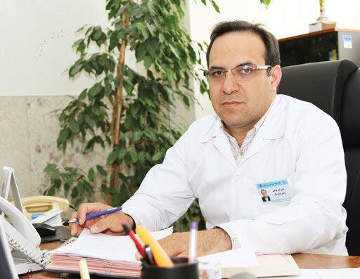نادر توکلیمعاون درمان ستاد کرونای تهران