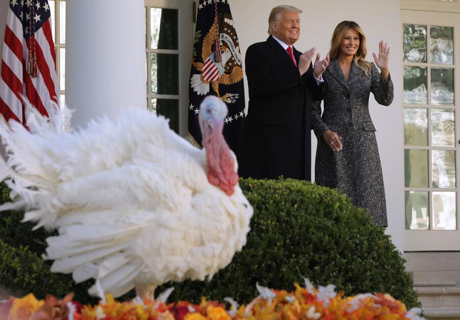روز شکرگزاری کاخ سفید