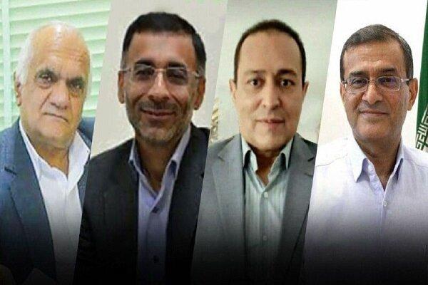 چهار استاد برتر دانشگاه یزد