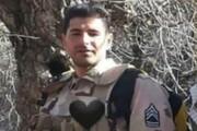 شهادت مرزبان مجاهد ناجا در مرز مریوان