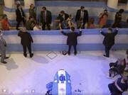 ویدئو |  مراسم وداع با مارادونا در کاخ ریاستجمهوری آرژانتین