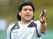 ویدئو | آخرین تصاویر ضبط شده از مارادونا