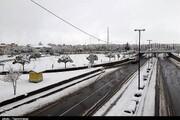 تصاویر | زنجان سفیدپوش از برف پاییزی