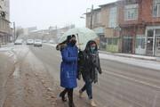 تصاویر | بارش سنگین برف در خلخال