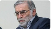 عکس | رئیس دستگاه قضا در کنار پیکر شهید فخریزاده