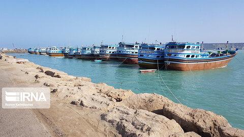 رونق صید و صیادی در سواحل مکران