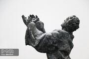 تصاویر | بارش برف در تبریز