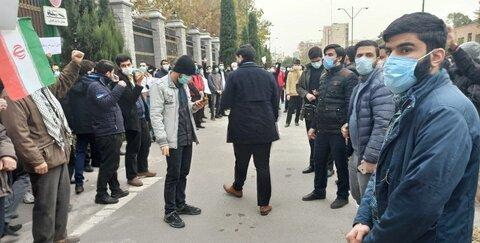 جزئیات تجمع دانشجویان و مردم مقابل مجلس | شعارها و درخواست تجمع کنندگان از سپاه | نمایندگان مجلس هم حضور داشتند