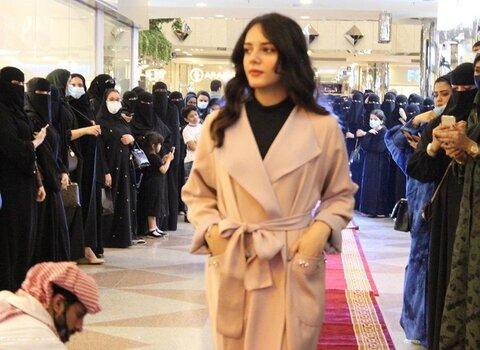 ویدئو | پوشش دختران عربستانی در نمایش مد لباس