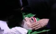 تصاویر تشییع پیکر شهید فخریزاده در حرم مطهر رضوی