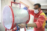 طراحی و ساخت دستگاه تخلیه دود در چابهار