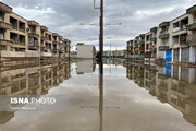 تصاویر | این وضعیت اهواز است ؛ پس از باران دو روز گذشته