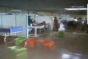آبگرفتگی بیمارستانهای خوزستان تکذیب شد