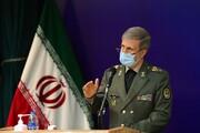 وزیر دفاع: هدف آمریکا از کاهش برنامه موشکی ایران تسلیم شدن ماست