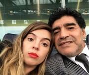 ویدیو | شادی گلی که اشکهای دختر مارادونا را سرازیر کرد