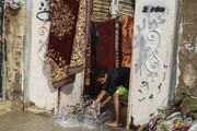 آبگرفتگی ۵۰۰ واحد مسکونی در ماهشهر